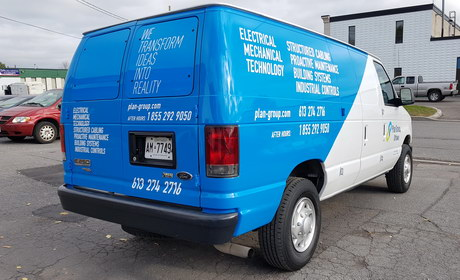 Vehicle/Fleet Lettering
