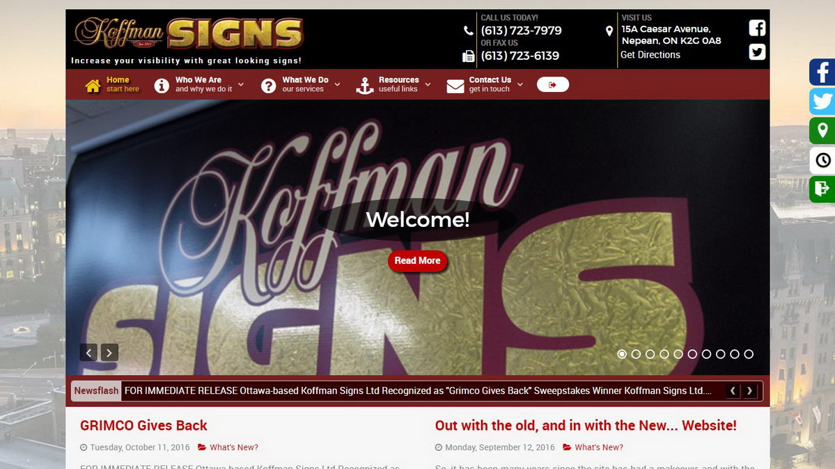 new koffman site