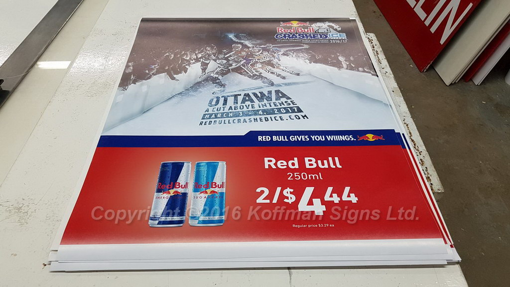 Special Event Promotional Sign
