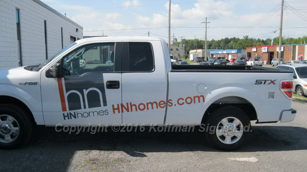 HN Homes - Vinyl Logo and Lettering